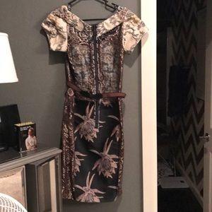 Midi Anthropologie dress